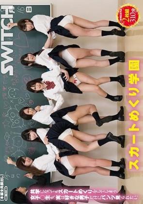 【モザ有】 スカートめくり学園 共学になってもスカートめくりをしてしまう女子○生も、実は好きな男子だけにパンツ見られたい。【2枚組】