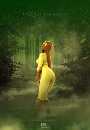 【モザ有】 真・グラマー仮面 ~必殺技破れたり!逐われ惑う森の美女!!の巻~ 北乃みれい