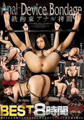 【モザ有】 Anal Device Bondage 鉄拘束アナル拷問 BEST vol.1【2枚組】