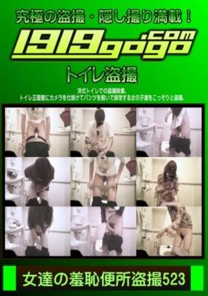 【無修正】 女達の羞恥便所盗撮 Vol.523