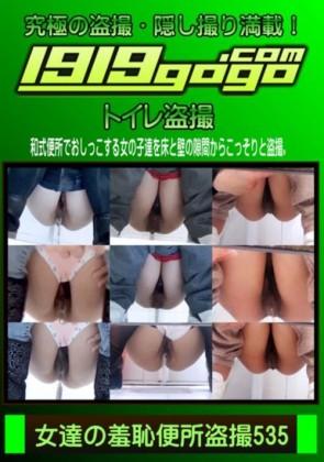【無修正】 女達の羞恥便所盗撮 Vol.535