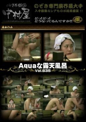 Aquaな露天風呂 Vol.635