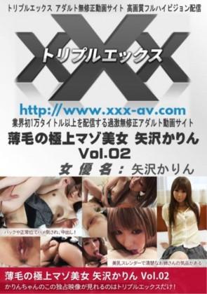 薄毛の極上マゾ美女 矢沢かりん Vol.02 矢沢かりん
